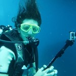 dive hurghada-diver-photo-go pro-diving-sea