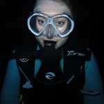 night dive diving in hurghada